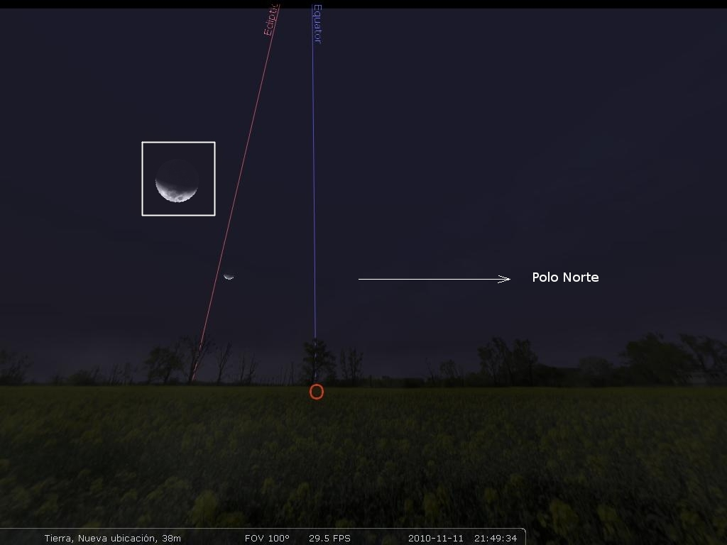 MARDUK Astronomía Fases de la Luna